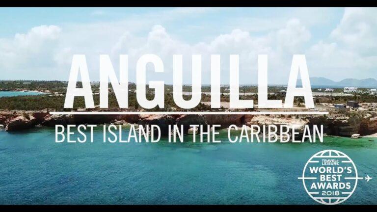 Anguilla: Best Island in the Caribbean   World's Best 2018   Travel + Leisure